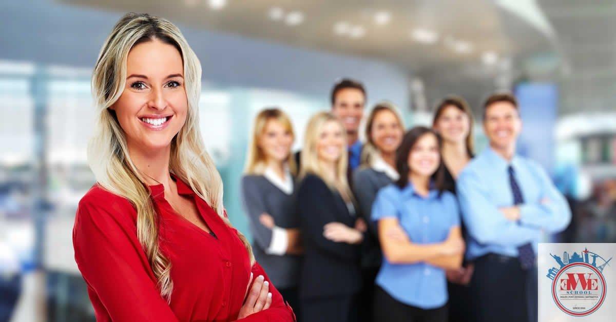 Aulas de Inglês para Negócios.